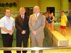 Visit to Cymmer Swimming Pool to learn about Celtic Community Leisure's recent success