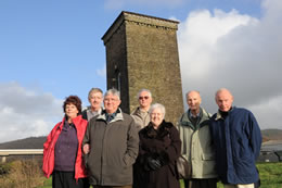 Hywel Francis meets with the Brunel Tower Committee