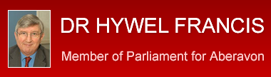 Dr Hywel Francis - Member of Parliament for Aberavon